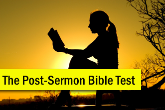 View article The Post-Sermon Bible Test