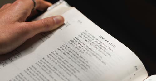 View article Three Possibilities Preaching The Psalms
