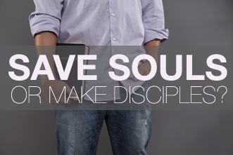 View article The Preacher's Task: Saving Souls Or Making Disciples?