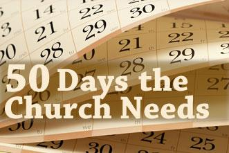 View article 50 Forgotten Days The Church Desperately Needs