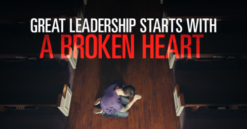 View article Great Leadership Often Starts With A Broken Heart