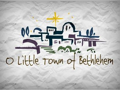 media O Little Town Of  Bethlehem With Lyrics