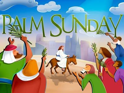 view the PowerPoint Template Palm  Sunday 1