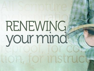 media Renewing Your Mind Bible