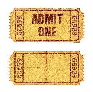 media Admission Ticket
