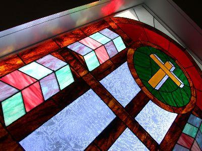 media Stained Window