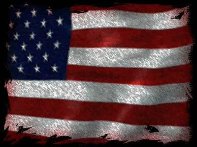view the Motion Background American Flag - Grunge