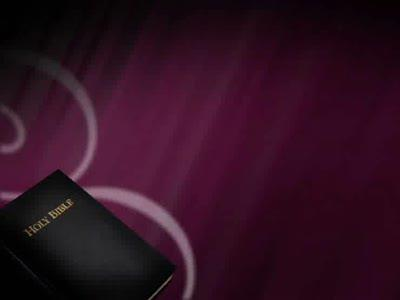 view the Motion Background Bible Flourishes - Purple