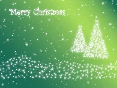 view the Motion Background Christmas Tree Particles - Green