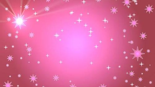 media Star Light Sky - Pink