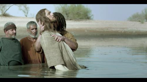 media Jesus' Baptism From The Bible Tv Miniseries