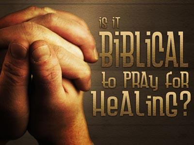 media Prayer For Healing