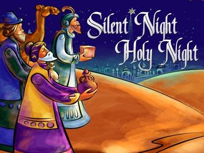 media Silent Night Holy Night