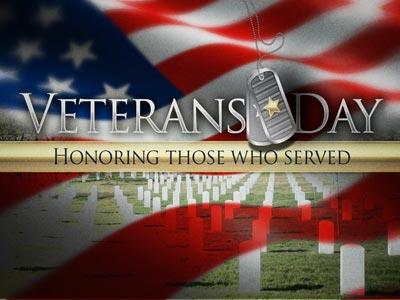 media Veterans Day Honor