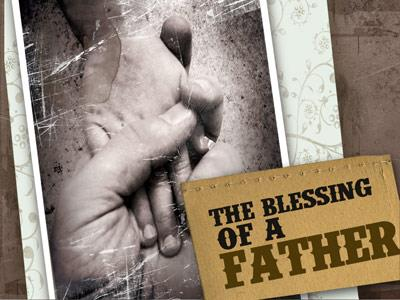view the PowerPoint Template The Blessing Of A Father