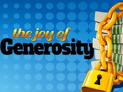 view the PowerPoint Template The Joy Of Generosity