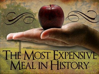 media The Most Expensive Meal In History