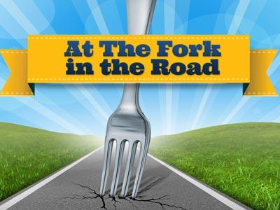 media A  Fork In The  Road