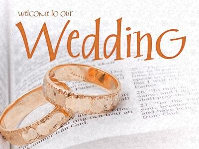 media Wedding Welcome Rings
