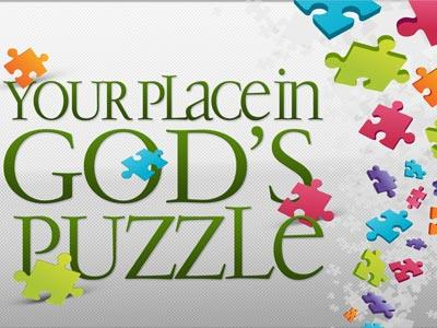 view the PowerPoint Template Your Place In God's Puzzle