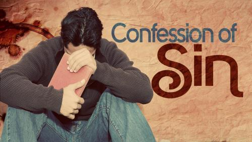 media Confession Of Sin