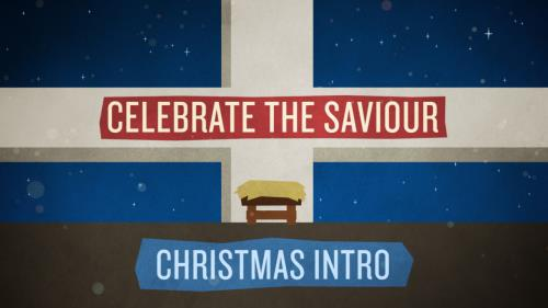 media Celebrate The Saviour (Alternate Spelling) Christmas Intro
