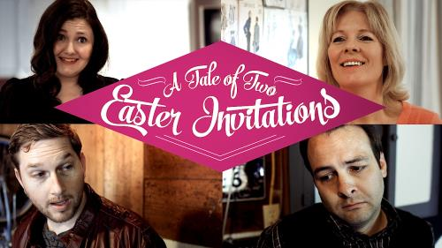 media A Tale Of Two Easter Invitations