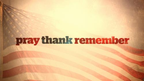 media Pray Thank Remember (Memorial Day)