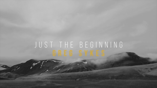 view the Worship Music Video Just The Beginning