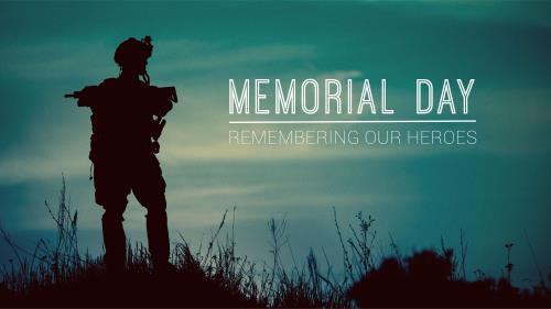 view the PowerPoint Template Memorial Day - Armed Forces
