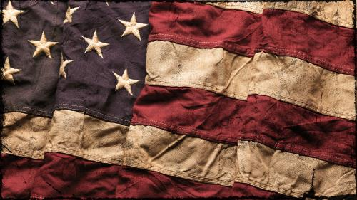 view the Image Vintage Flag
