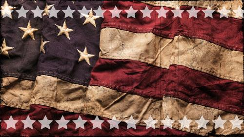 view the Motion Background Vintage Flag