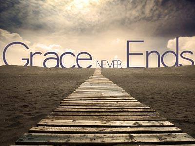 view the PowerPoint Template Grace  Never  Ends
