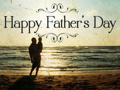 view the PowerPoint Template Father's Day Beach