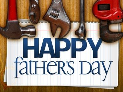 view the PowerPoint Template Father's Day Tools