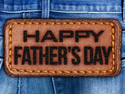 view the PowerPoint Template Father's Day Jeans