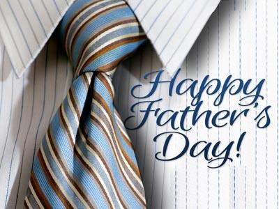 media Father's Day Tie